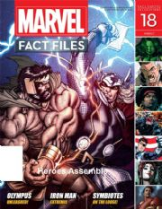 Marvel Fact Files #18 Eaglemoss Publications